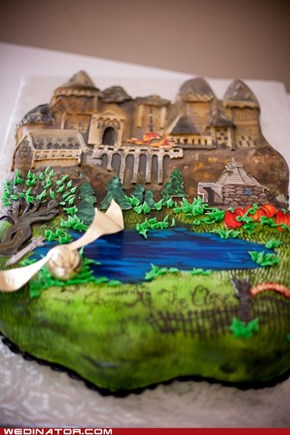 Just Pretty: Harry Potter Groom's Cake