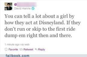 The Disneyland Test