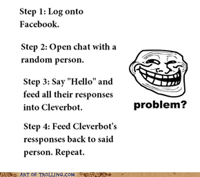 Cleverbot Trick