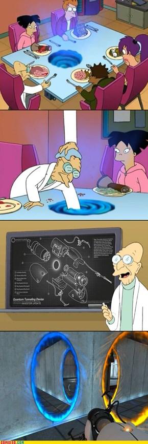 I think I'll invent a robot next...