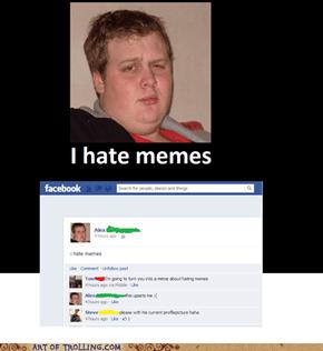 Alex hates memes