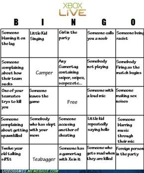 XBL Bingo