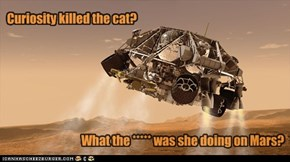 mebbe went after mouse on mars
