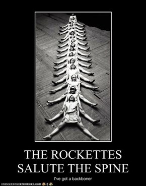 THE ROCKETTES SALUTE THE SPINE