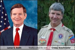 Lamar S. Smith Totally Looks Like Creepy Scoutmaster