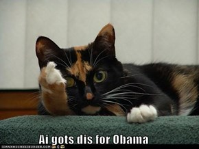 Ai gots dis for Obama