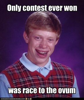 Only contest ever won