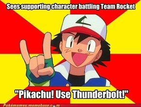 Scumbag Ash: Taking Glory For Team Rocket Blast Off