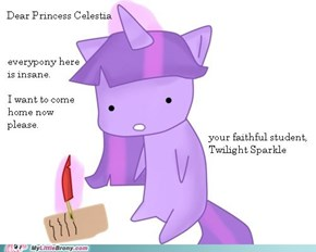 I'd Rather Live in Canterlot