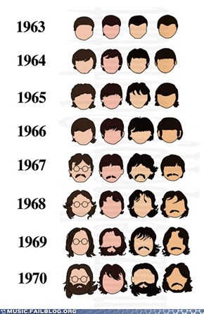 Fab Four Hairstyles