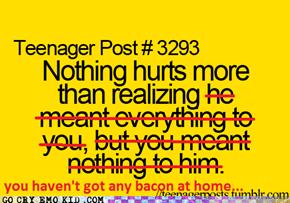 So deep..