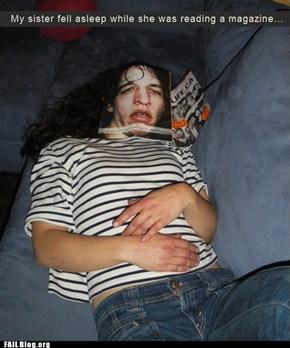 Sleeping FAIL