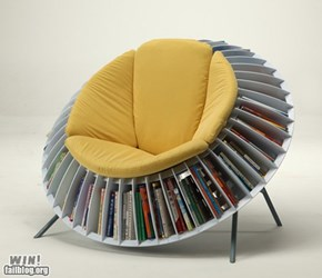Bookshelf Chair WIN