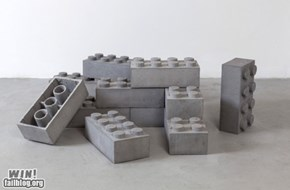 Concrete LEGO WIN