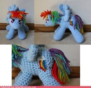 Rainbow Dash Amigurumi