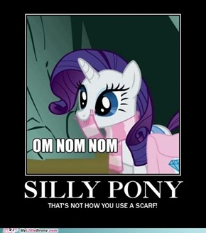 Silly Rarity.