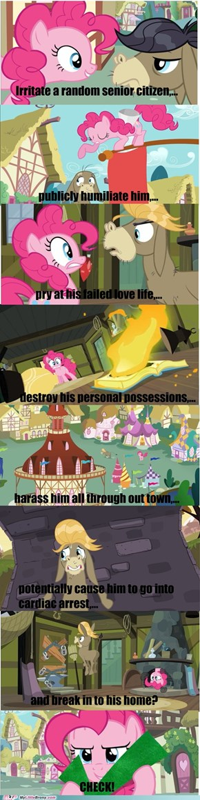 Why Pinkie Pie?