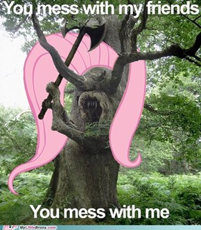 Fluttertree Isn't Happy