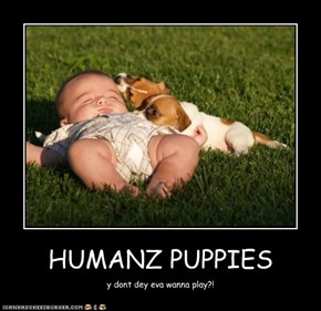 HUMANZ PUPPIES