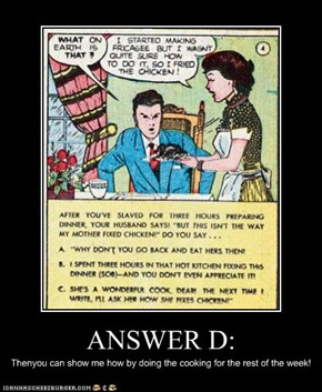 ANSWER D:
