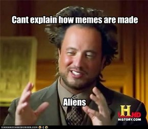 It is always the aliens