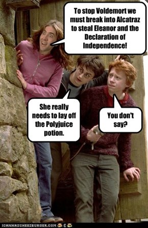 Ron! Not You Too!