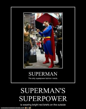 SUPERMAN'S SUPERPOWER