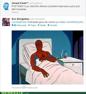 That Tweet Gave Me Cancer