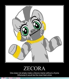 Zecora meme rule