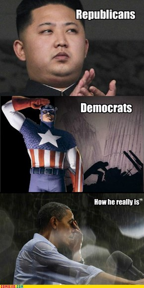 How Obama looks to the...