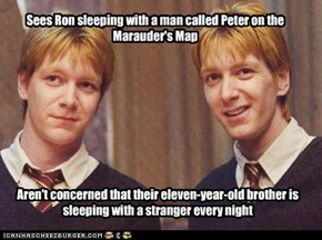 Scumbag Fred and George