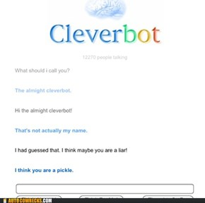 Cleverbot You Are Drunk