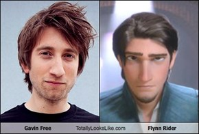 Gavin Free Totally Looks Like Flynn Rider