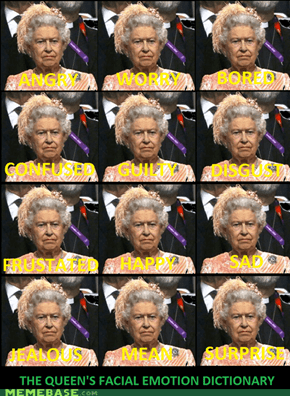 the queens facial emotion dictionary