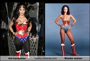 Kim kardashian Totally Looks Like Wonder woman