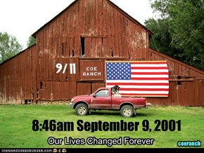 8:46am September 9, 2001