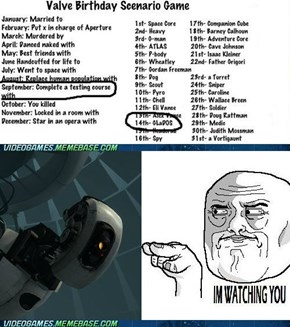 GlaDos is my partner?