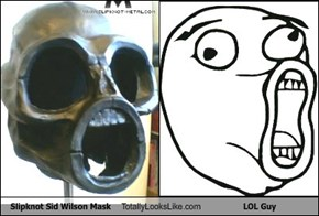 Slipknot Sid Wilson Mask Totally Looks Like LOL Guy