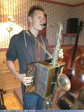 Saxoccordion