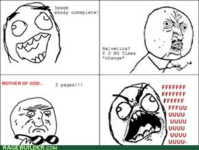 Font Rage