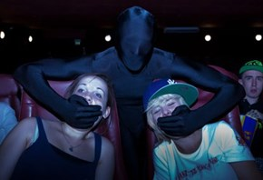 Movie Theater Ninjas of the Day