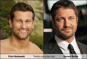 Chris Bukowski Totally Looks Like Gerard Butler