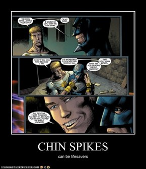 CHIN SPIKES