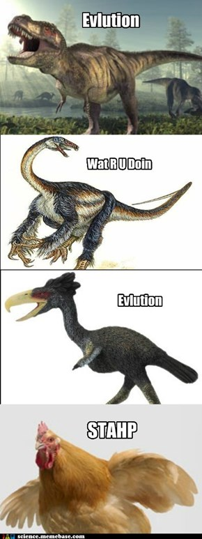 Curse You, Darwin!