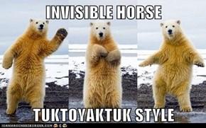 INVISIBLE HORSE  TUKTOYAKTUK STYLE
