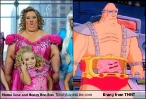 Mama June and Honey Boo Boo Totally Looks Like Krang from TMNT