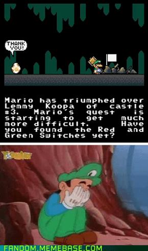 Mario has triumphed...