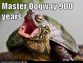Master Oogway 900 years