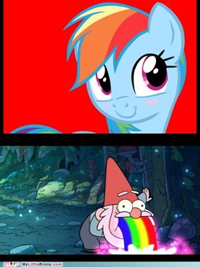 The Rainbow Dash effect