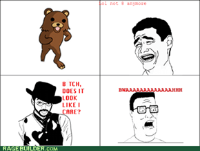 Pedobear Doesn't Give A Crap